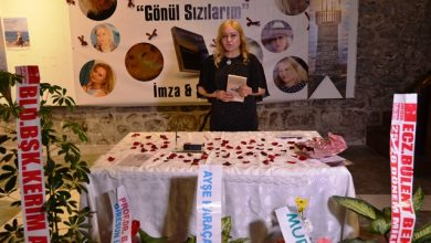Photo of GÖNÜL AYDIN 'GÖNÜL SIZILARIM'I İMZALADI