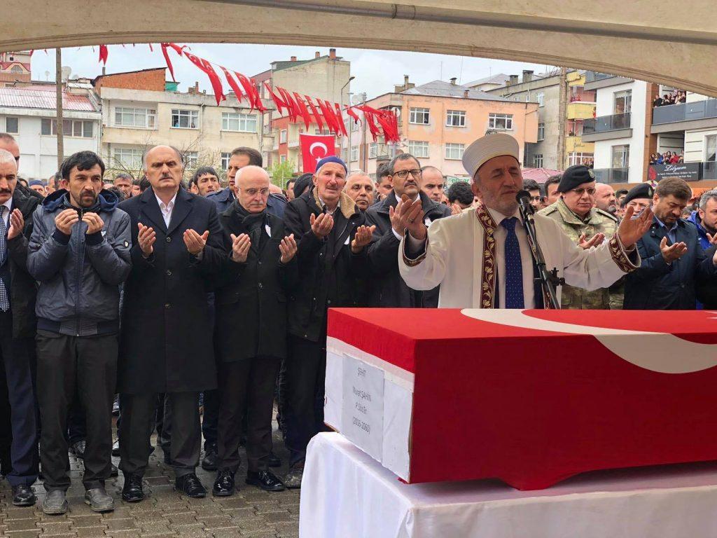 Şehit Murat Şahin, Espiye'de son yolculuğuna uğurlandı
