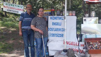 Photo of GİRESUN KALESİ'NDEKİ KIR KAHVESİ ENGELLİ DOSTU