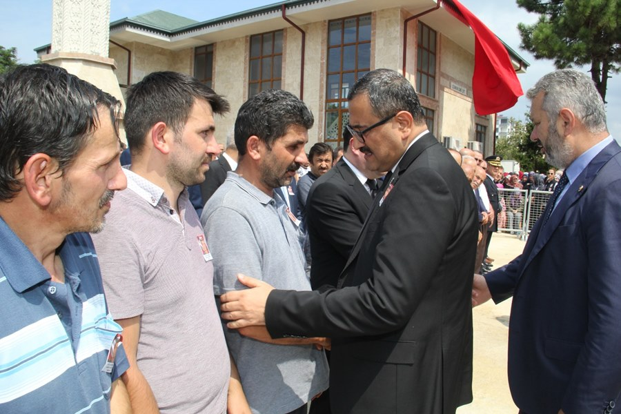 ŞEHİT POLİS HAMDULLAH KIRTAY İÇİN TİREBOLU'DA TÖREN YAPILDI
