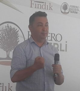 FERRERO FINDIK, ORDU'DAKİ ÖRNEK BAHÇELERİNİ TANITTI