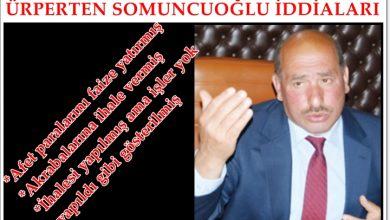 Photo of AKP'Lİ BAŞKAN COŞKUN SOMUNCUOĞLU'NUN İCRAATLARI 'VAY CANINA' DEDİRTTİ