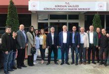 AK Parti heyetinden Engelli Bakım Merkezine Ziyaret