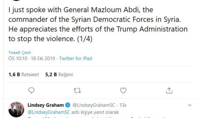 PKK ABD'YE TEŞEKKÜR ETMİŞ