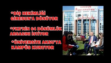 Photo of REKTÖR YILMAZ CAN 'ADALETLİ YÖNETİM' SÖZÜ VERDİ
