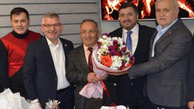 Photo of AK PARTİ'DEN GAZETECİLER DERNEĞİ'NE ZİYARET