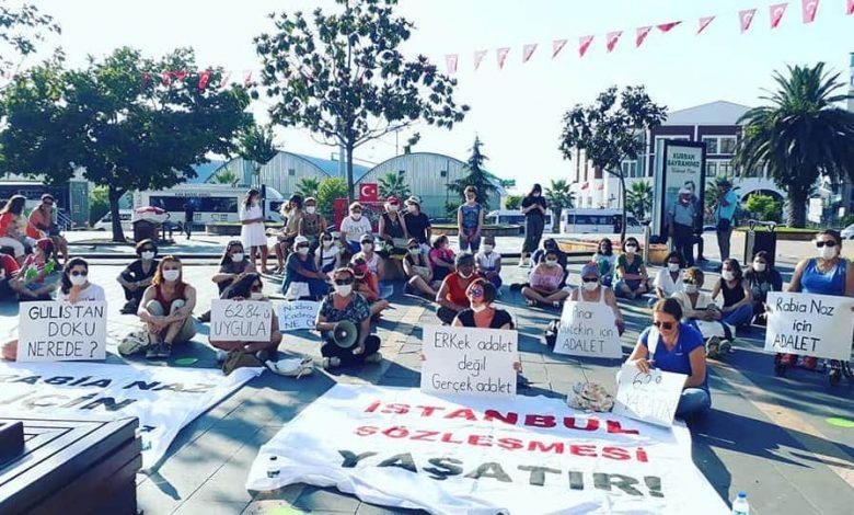 KADINLAR 'İSTANBUL SÖZLEŞMESİ YAŞATIR' DEDİ