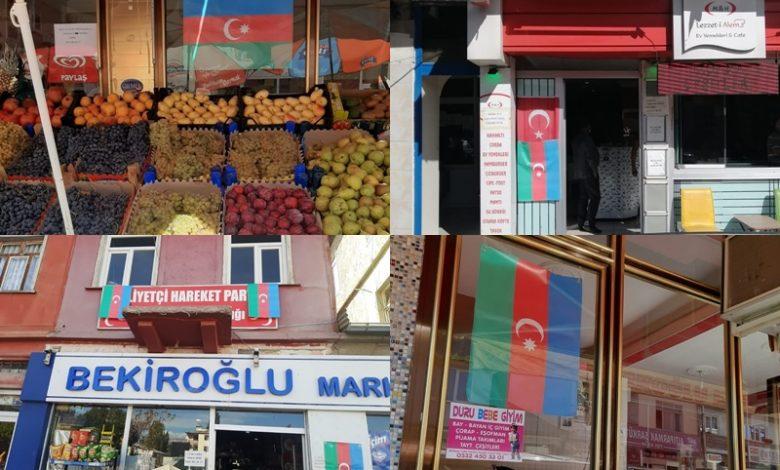 ALUCRA ESNAFI AZERBAYCAN'IN YANINDA