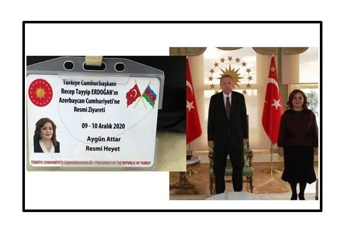 PROF. DR. AYGÜN ATTAR, CUMHURBAŞKANI'NIN HEYETİNDE