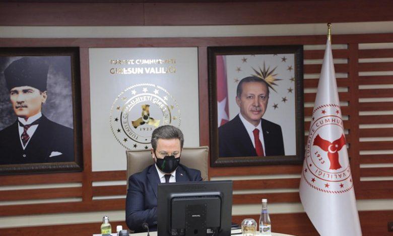 VALİ ENVER ÜNLÜ, GİRESUN'DAKİ DEVLET PROJELERİNİ ANLATTI