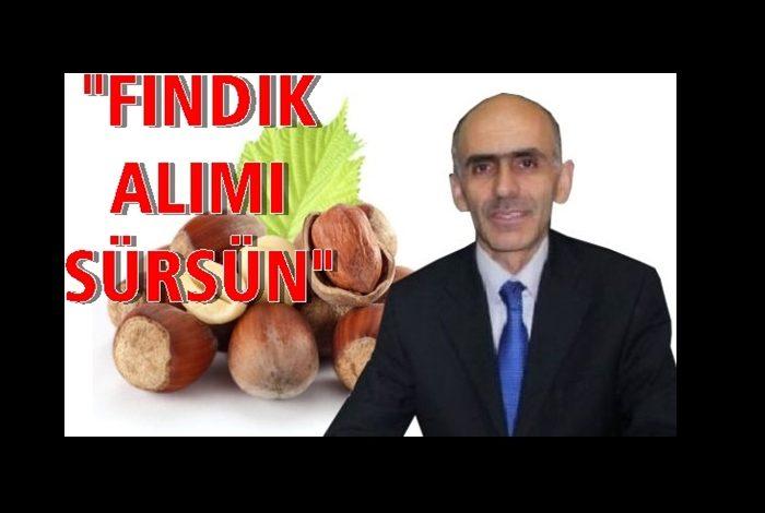 ZİRAAT ODASI DA  'TMO PİYASADA KALSIN' DEDİ