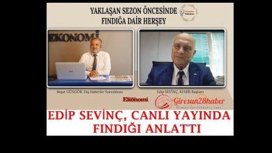 """Photo of Sevinç; """"Türk fındık üreticisi ihracatçılarımızın da kırmızı çizgisidir."""""""