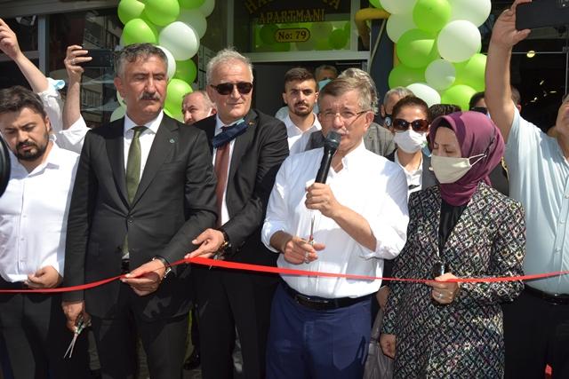 AHMET DAVUTOĞLU'NDAN AKP'YE SALVO ATIŞ/GÖRÜNTÜLÜ